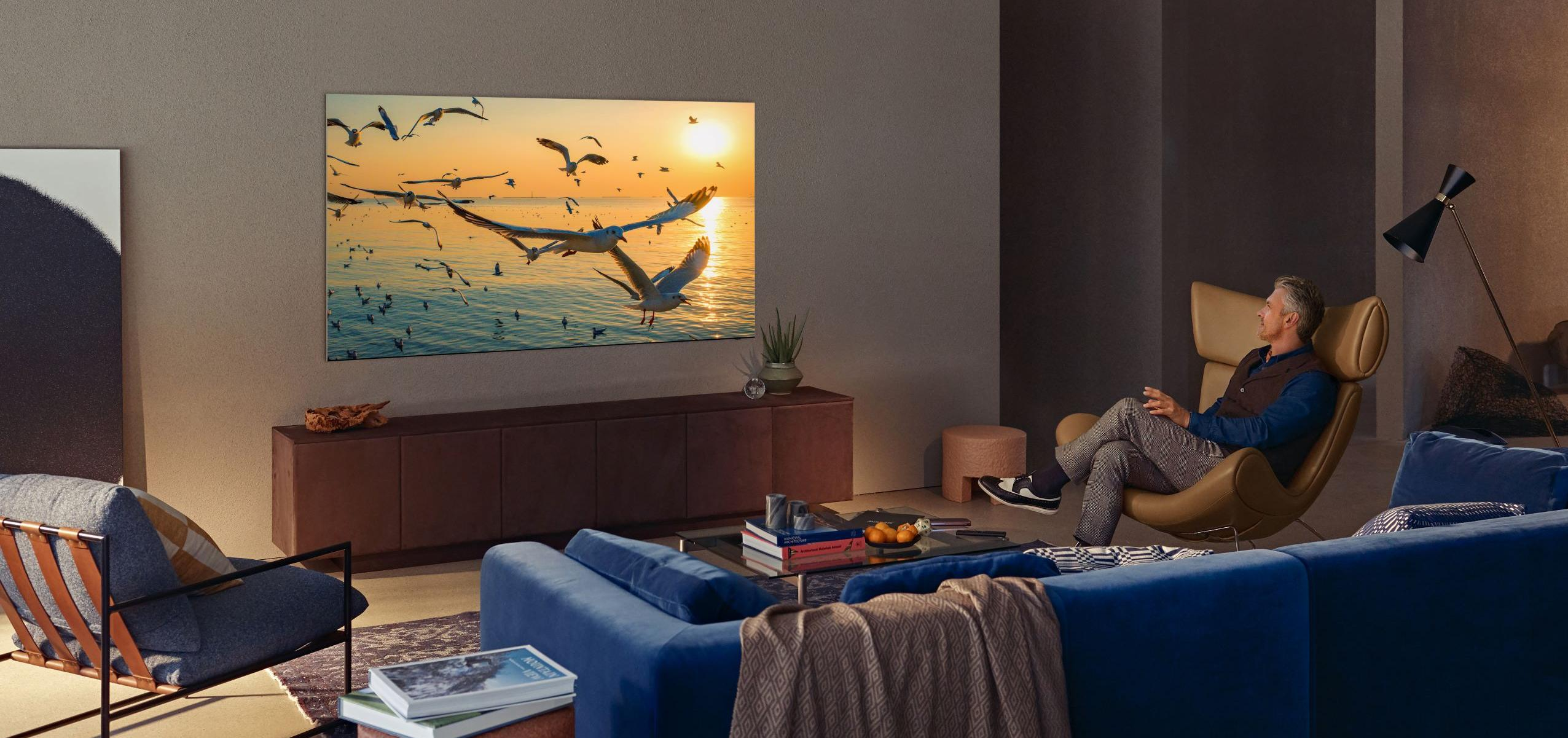 Neo QLED inneholder en ny type baklys som gir LCD-skjermene enda bedre bilde.