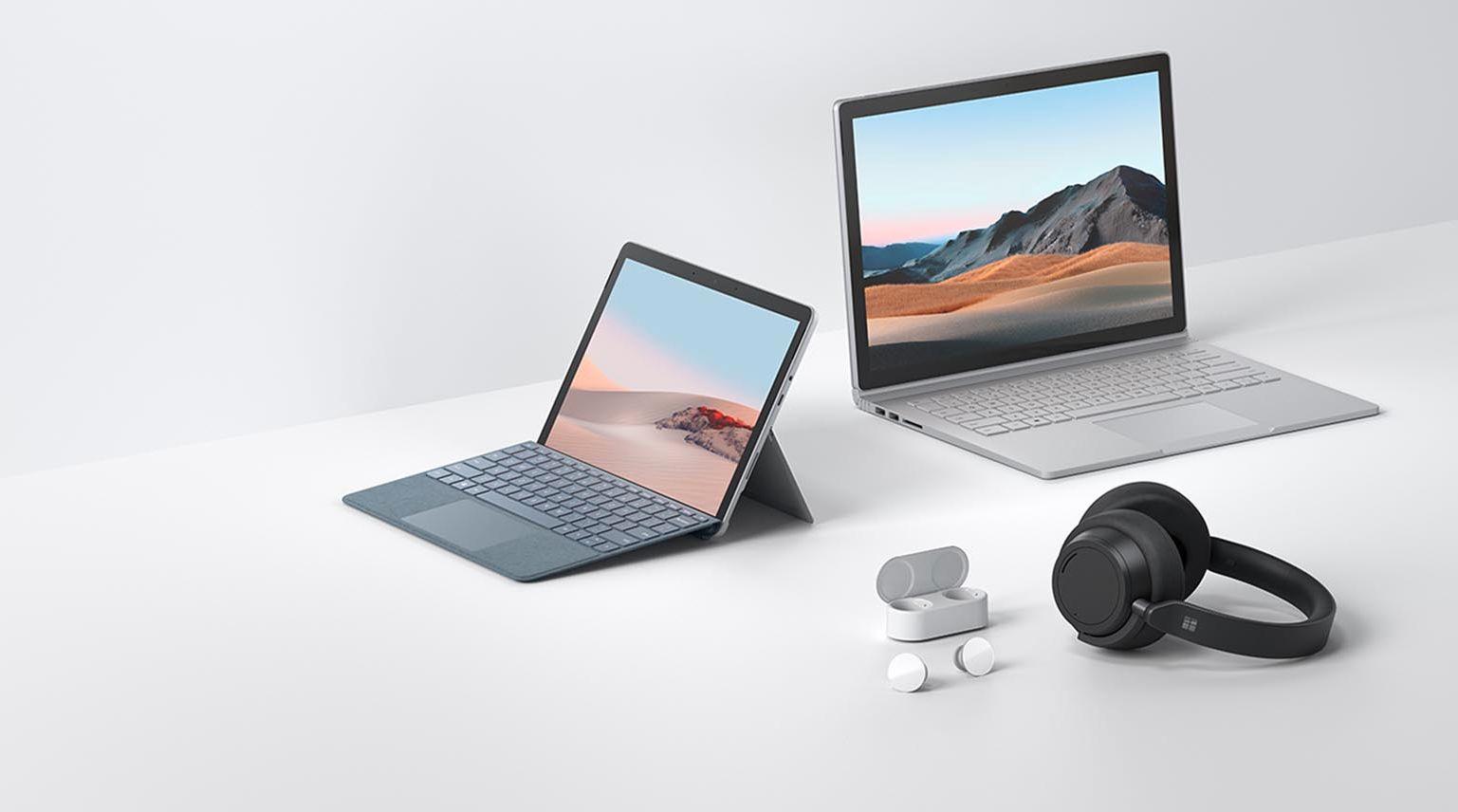 Microsoft lanserer ny Surface Go, ny Surface Book, Surface Headphones 2 og Surface Earbuds. Og alle kommer til Norge.