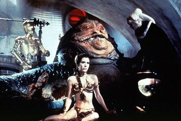Jabba the Hutt i 3D. Vi gleder oss.