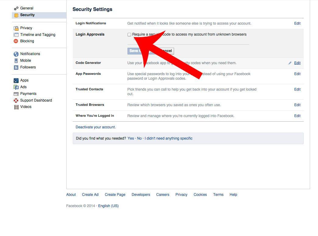 Facebook - steg 3.Foto: Tek.no