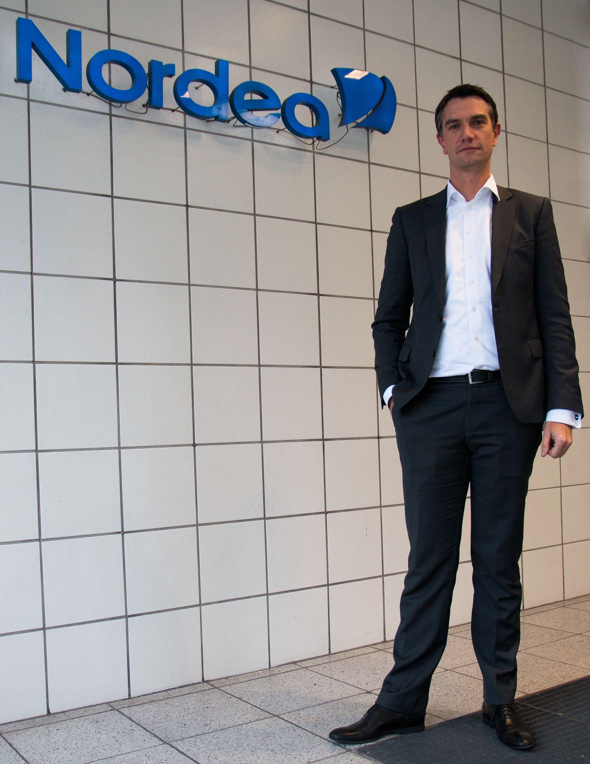 Christian Bornfeld, leder for Nordea Digital Banking.Foto: Anders Brattensborg Smedsrud, Tek.no
