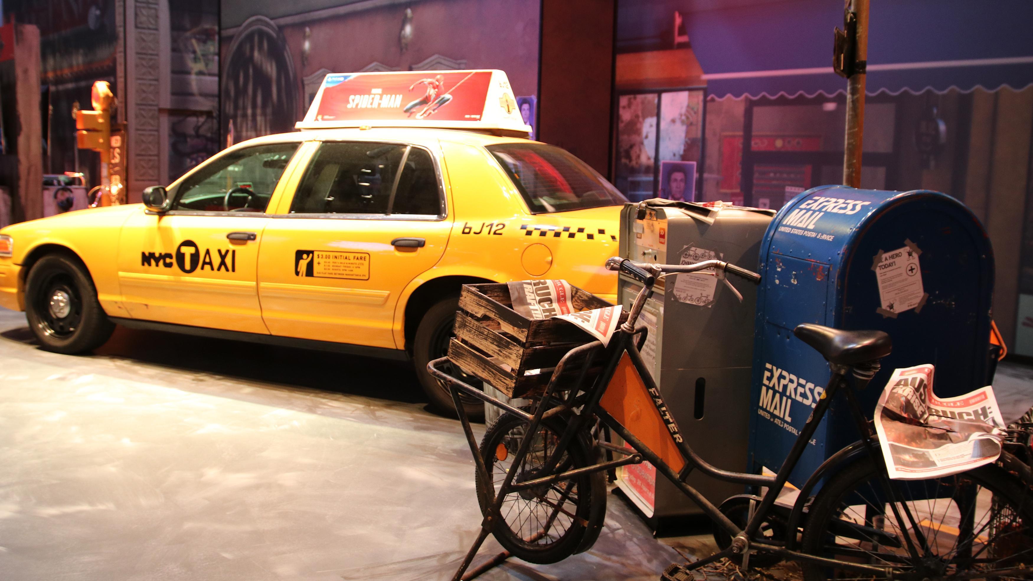 På Gamescom-messeområdet hadde Sony gjenskapt en del av Marvels New York, hvor handlingen i Spider-Man-spillene finner sted.
