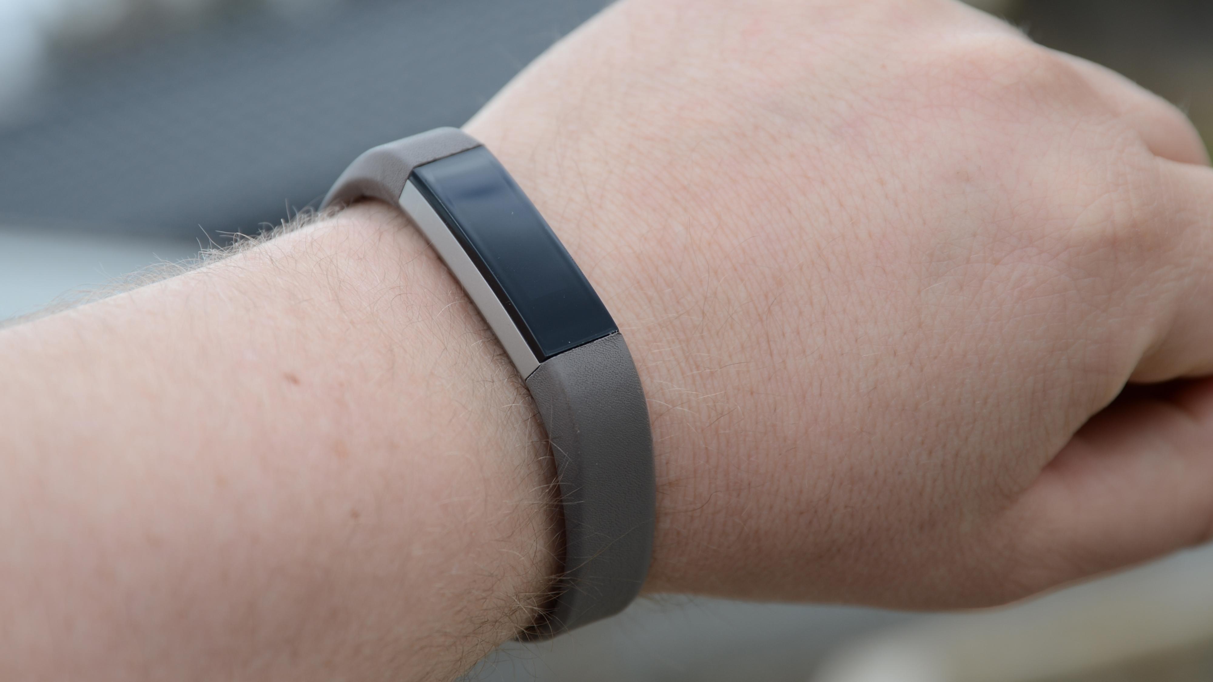 Fitbit Alta har en flott design.