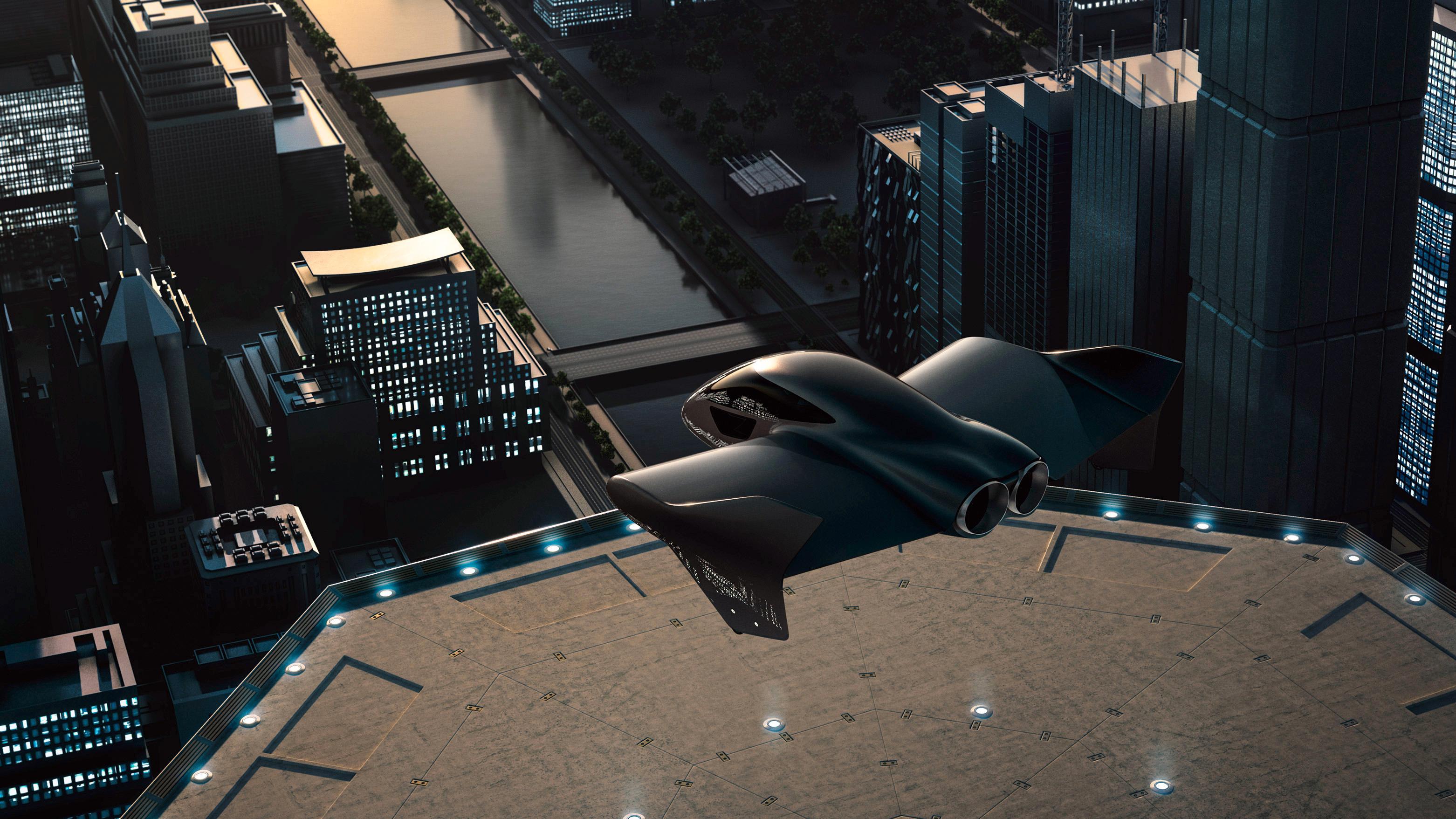 Boeing og Porsche går sammen om å utvikle en elektrisk flybil