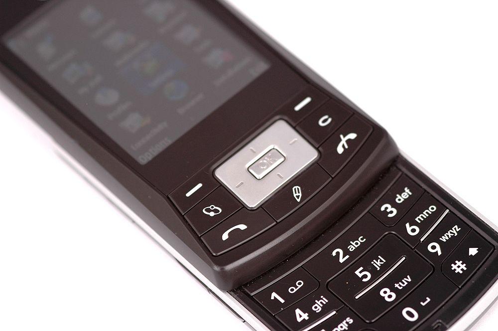 KS10 har samme taster som Nokias Series 60-telefoner.