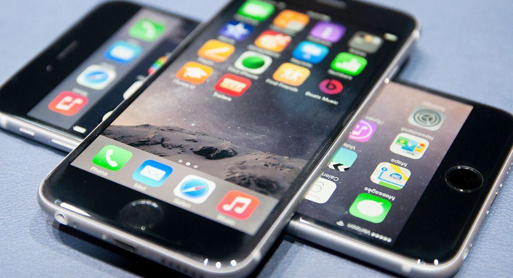 Slik skal en iPhone 6 egentlig se ut.Foto: Finn Jarle Kvalheim, tek.no