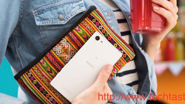 Xperia Z5 Compact i et uoffisielt, lekket pressebilde. Foto: Techtast/Weibo
