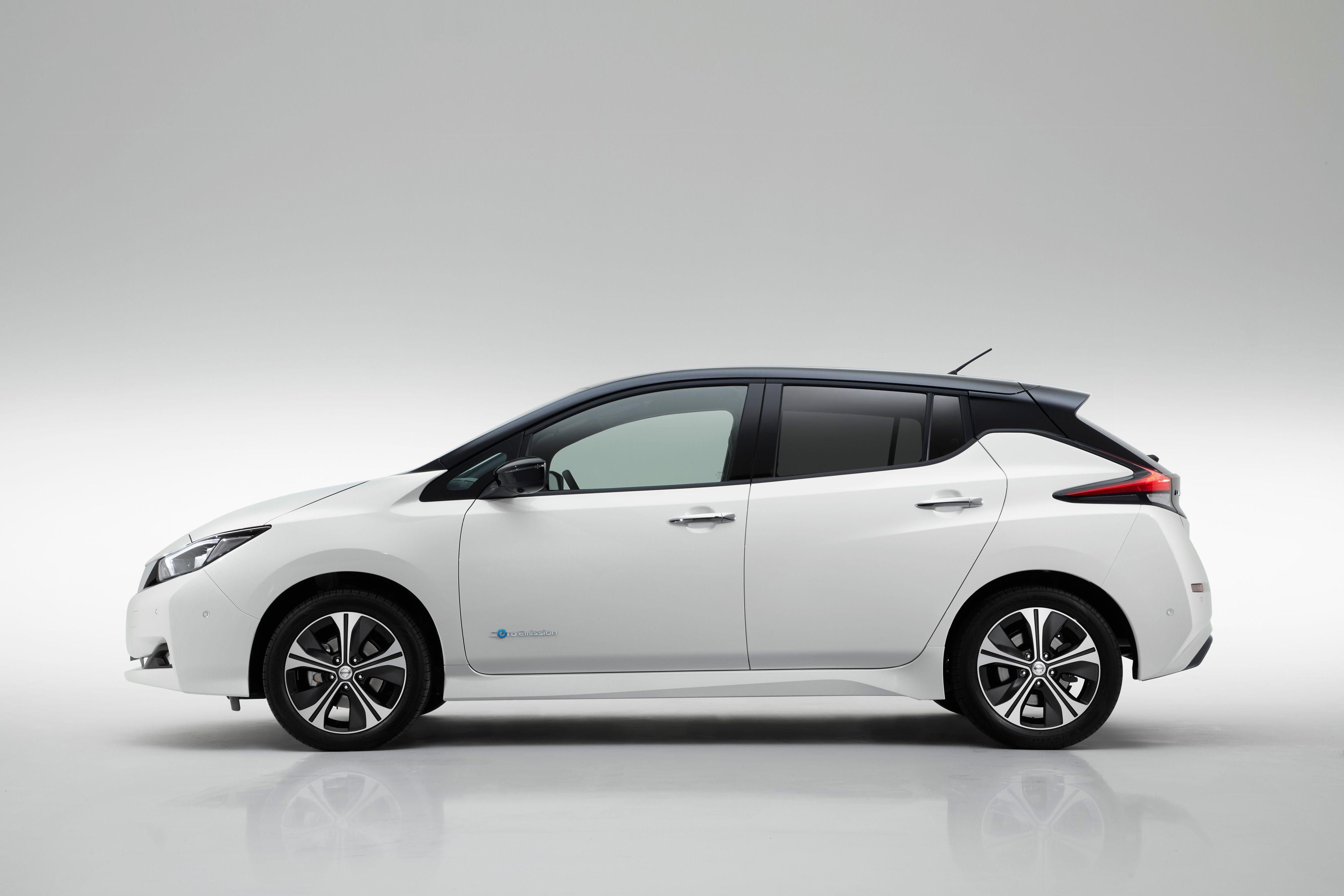 Nye Nissan Leaf har fått litt mindre spesielle linjer enn den forrige modellen.