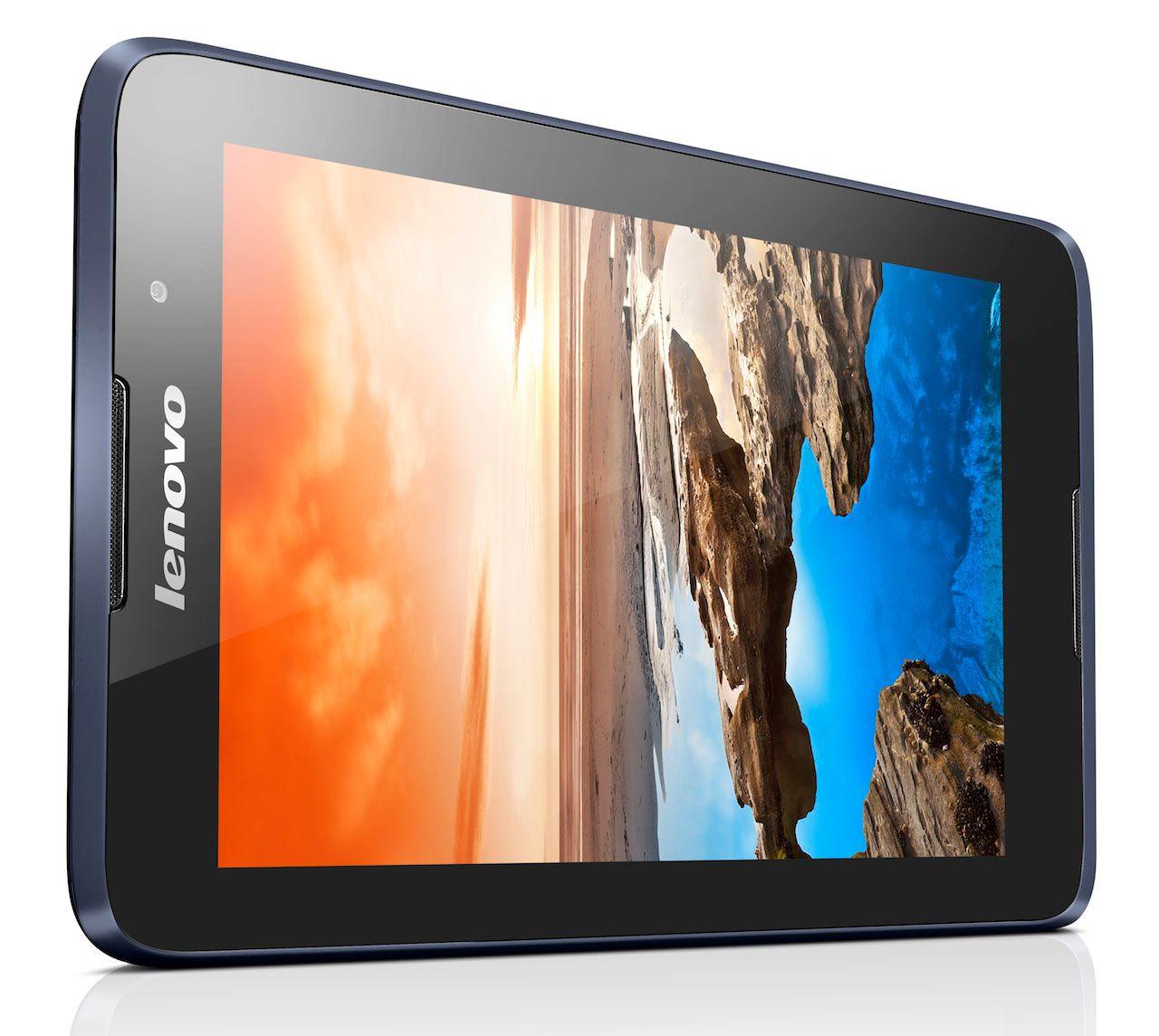 Lenovo A7-50 har 7-tommers skjerm.Foto: Lenovo