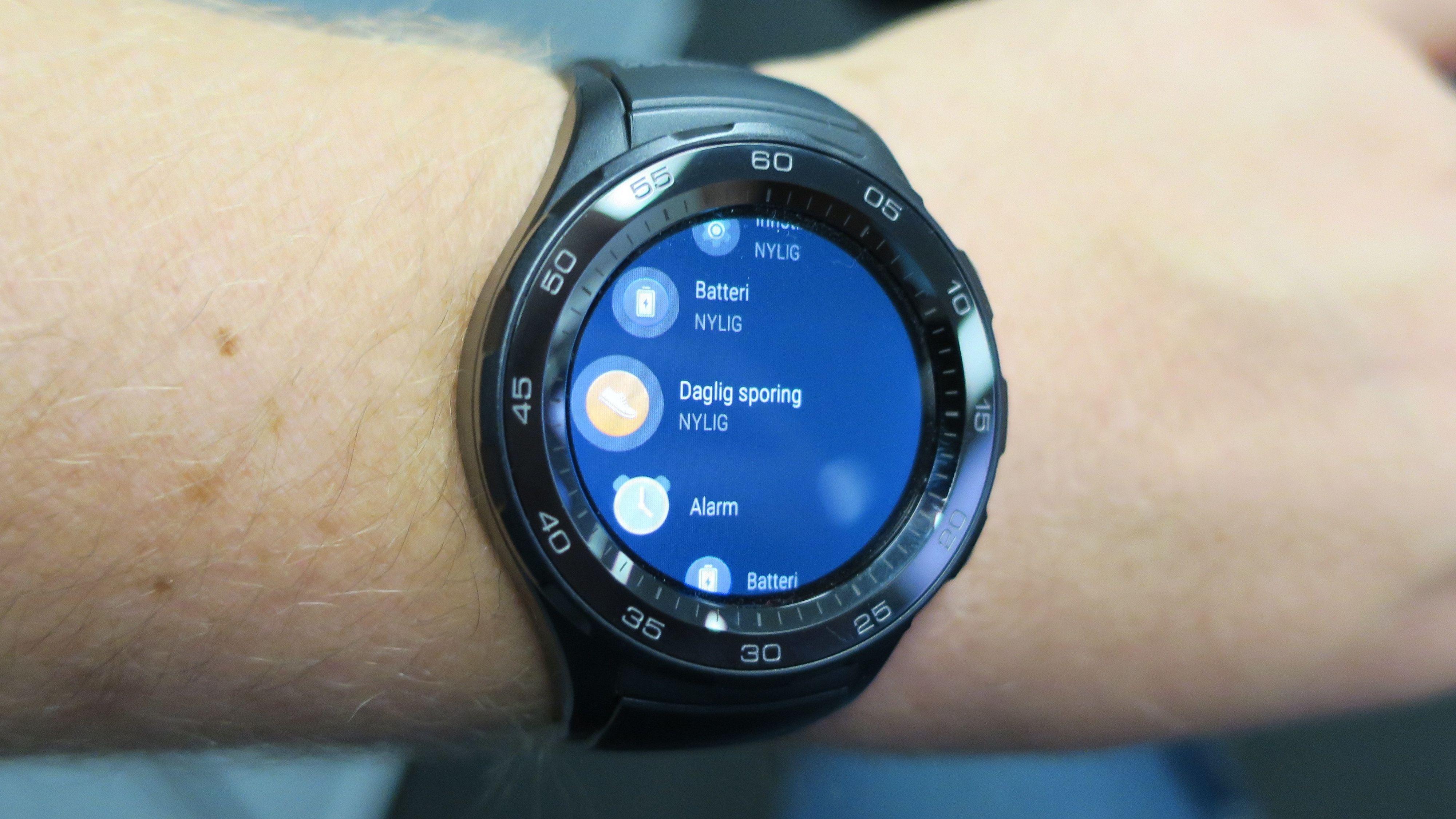 Huaweis nyeste smartklokke fikk oss til å like Android Wear. '