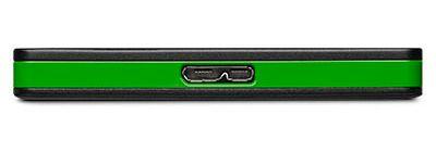 Selve SSD-en har en USB 3.0 Micro-B-port, ikke USB Type-C.