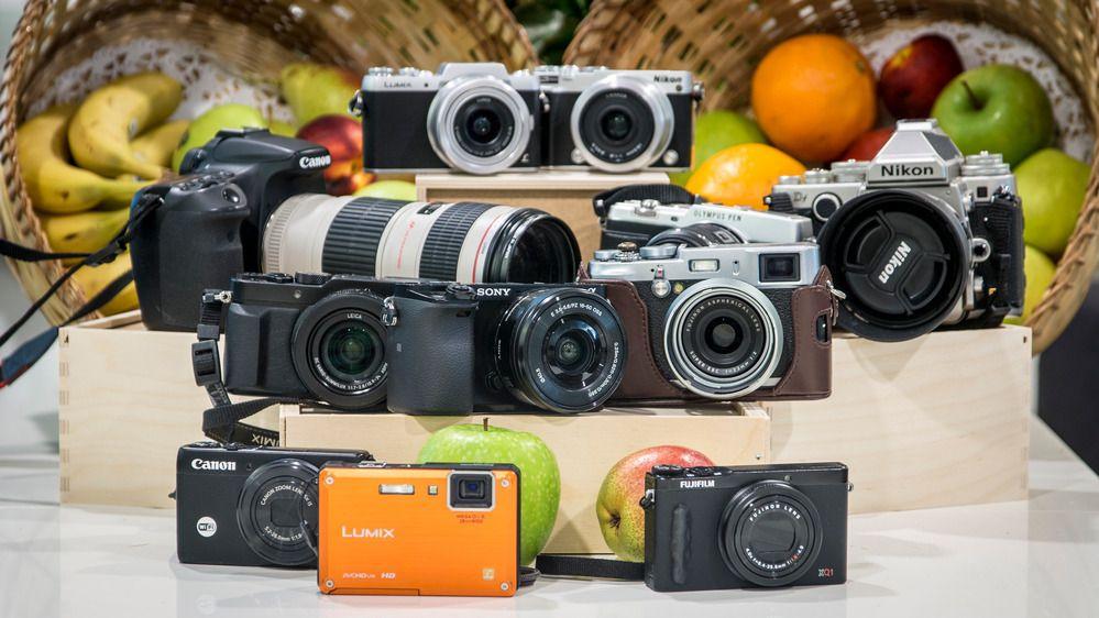 Det er en jungel av kameraer der ute, ikke la merket alene styre ditt valg. Foto: Kristoffer Møllevik