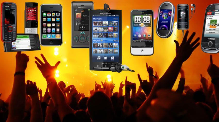 Stor test av musikktelefoner