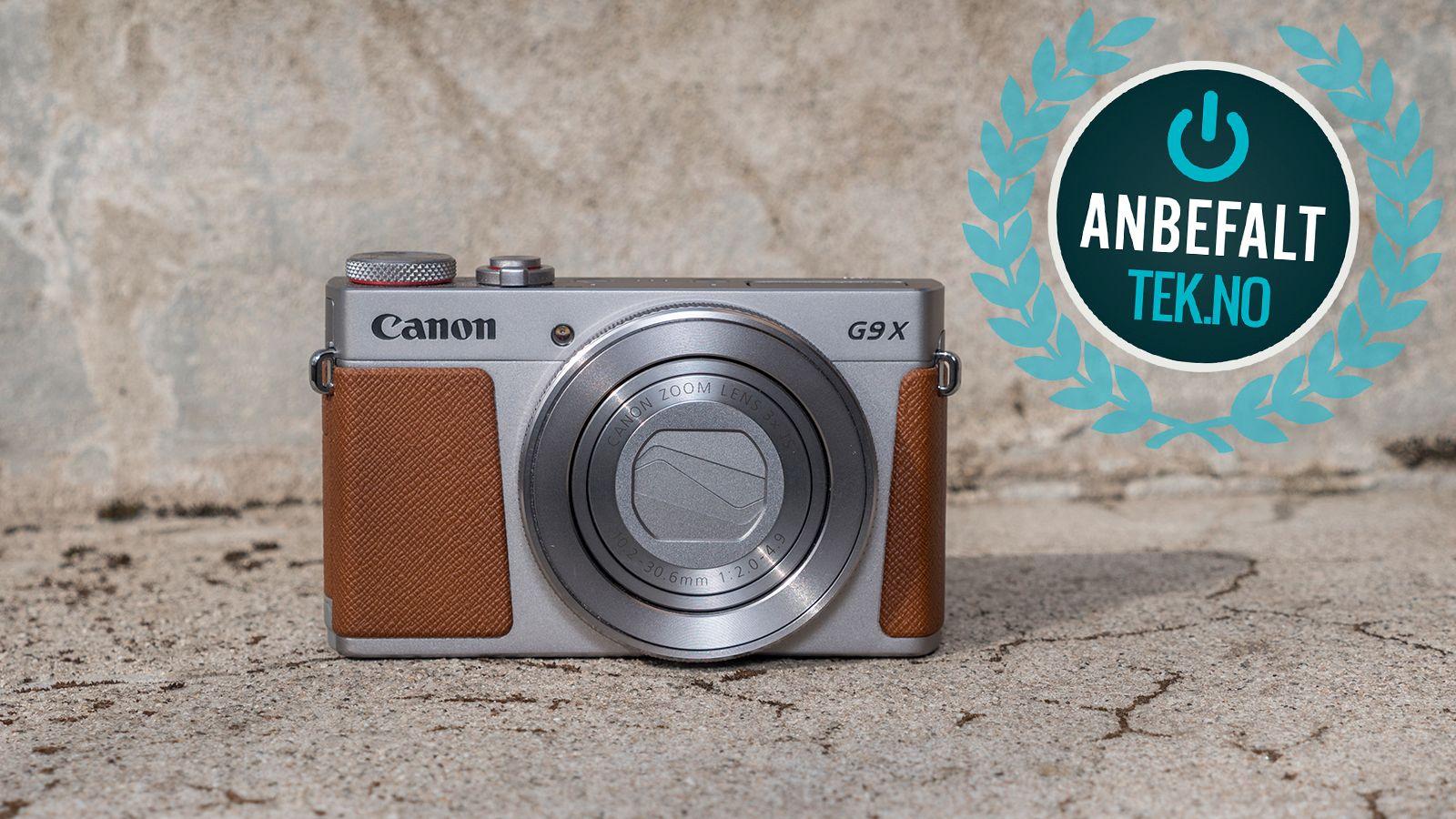 Hvis du ser etter et skikkelig bra lommekamera, er G9 X Mark II den beste kandidaten på markedet