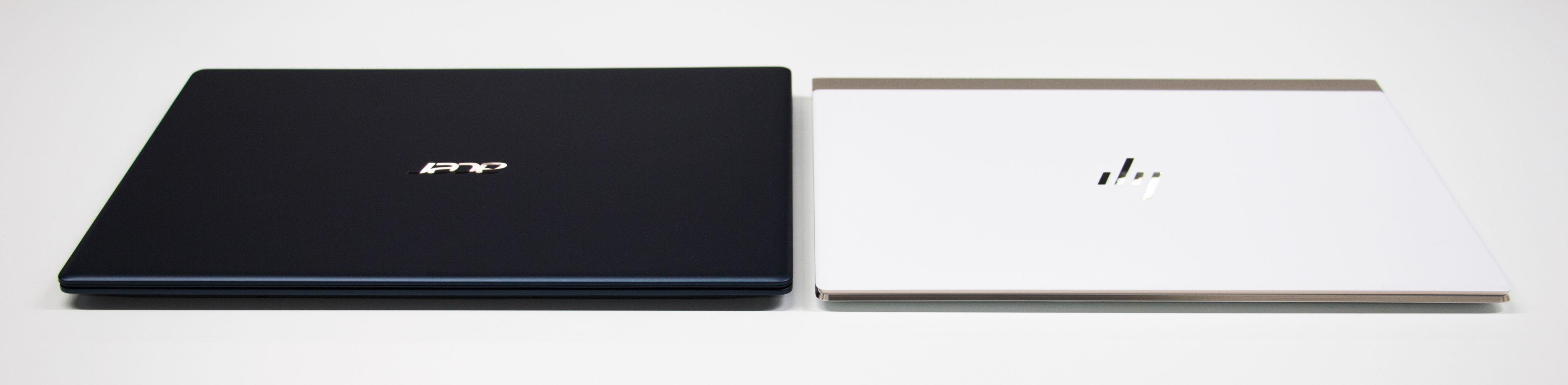 Acer går for sort magnesium-skall med sin Switch 5, mens HP frir med sin aluminium- og karbonfiberkledde Spectre 13.