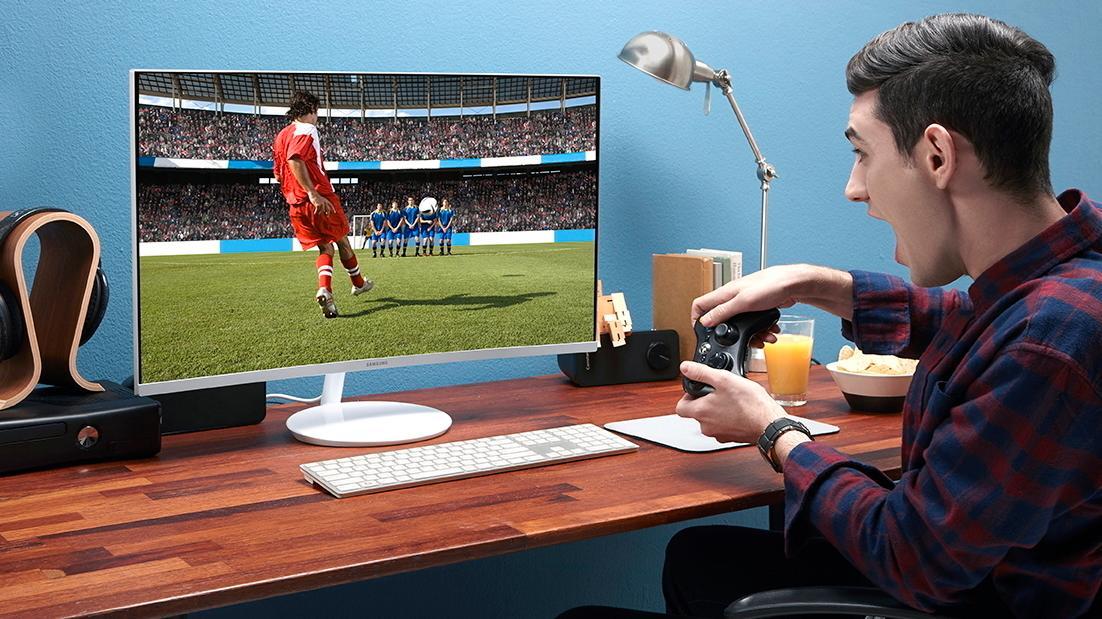 Samsungs nye skjerm skal gjøre spillingen bedre med kvanteprikker