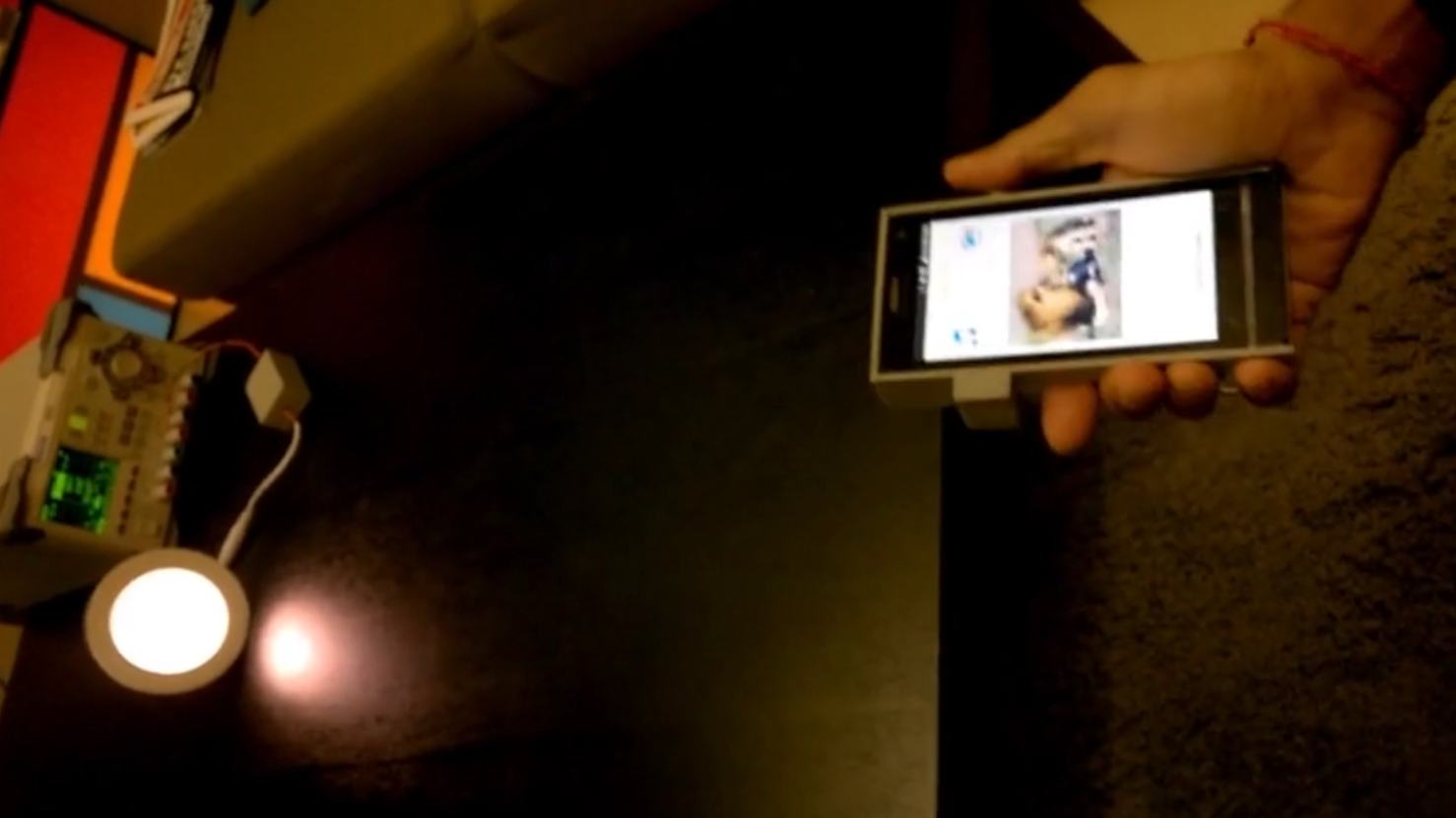 Lynrask dataoverføring med LED-lamper har kommet nærmere en realitet