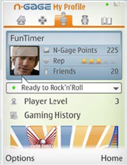 N-Gage får et eget nettsamfunn som blir tilgjengelig fra mobilen. (Foto: Nokia)
