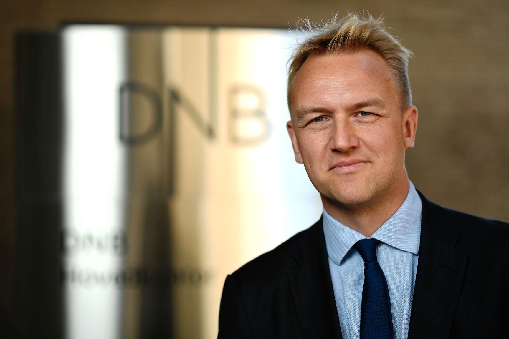 Andreas Nyheim, kommunikasjonsrådgiver i DNB.