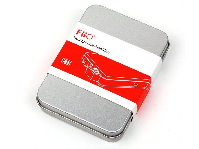 Forsterkeren kommer i en aluminiumsboks som gir god beskyttelse når du pakker forsterkeren med deg på reise.