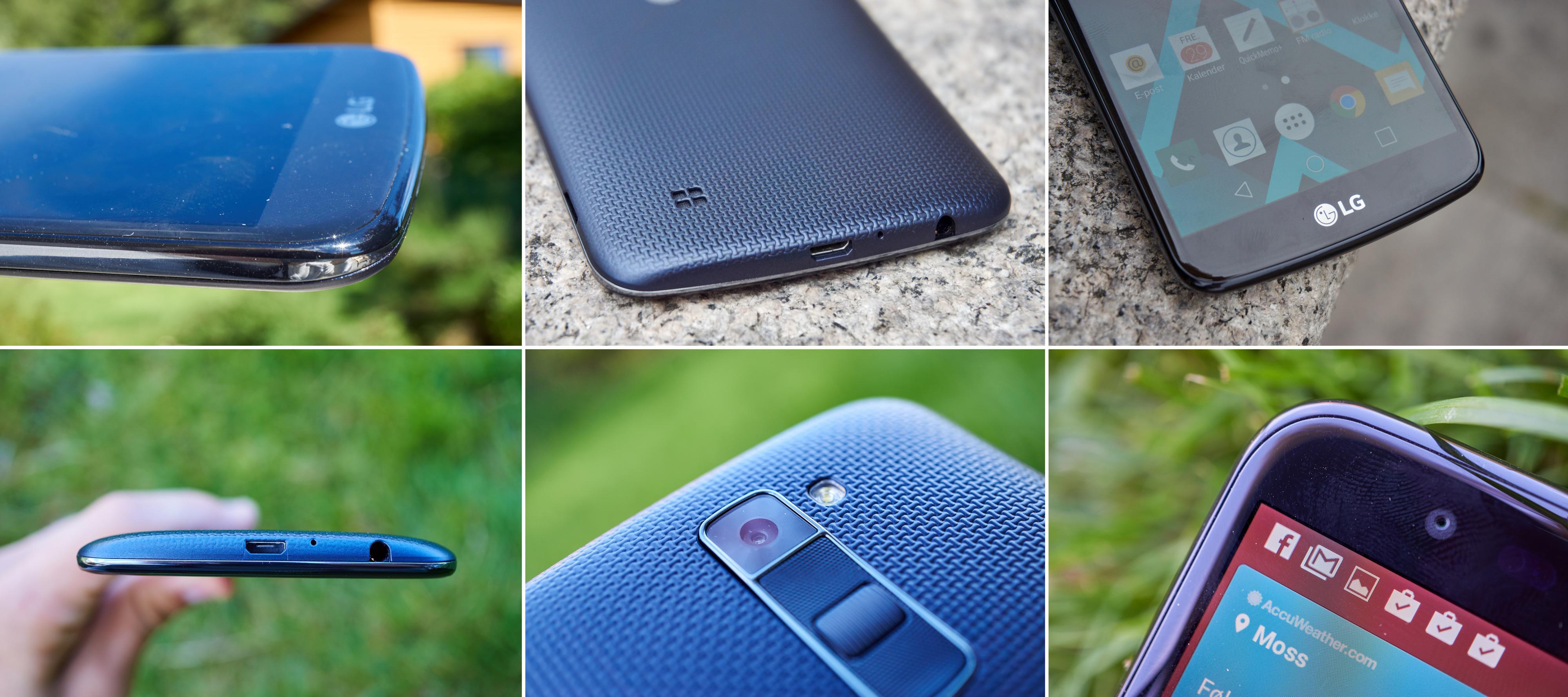 LG K10 har et svært lekkert design, og vi digger det.