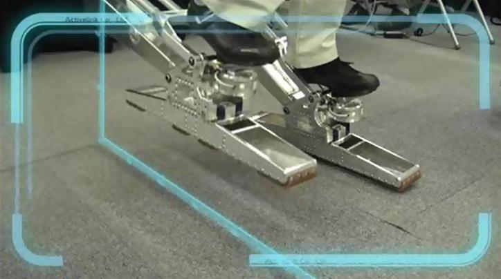 Maskinen lar brukeren også bevege beina. Foto: ActiveLink