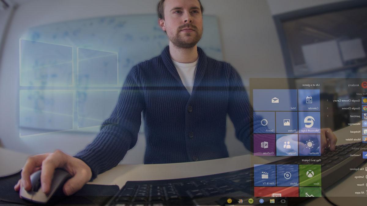 Slik setter jeg opp Windows 10