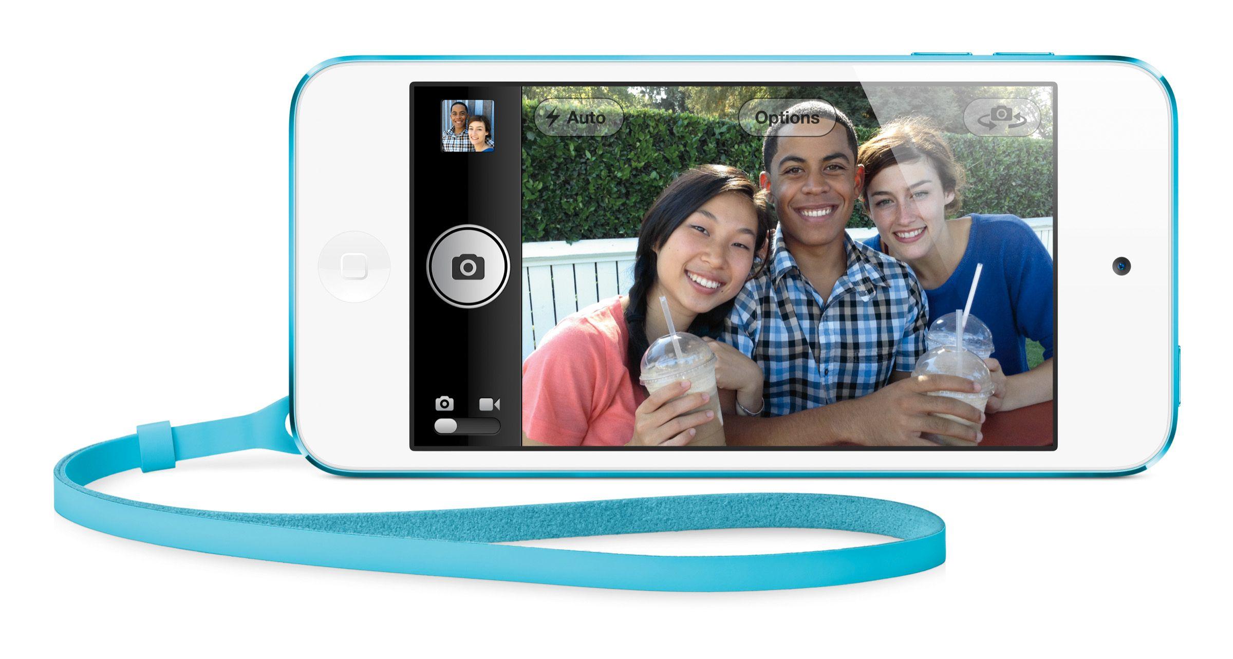 2012-modellen av iPod Touch har fått et bedre kamera enn forgjengeren.Foto: Apple