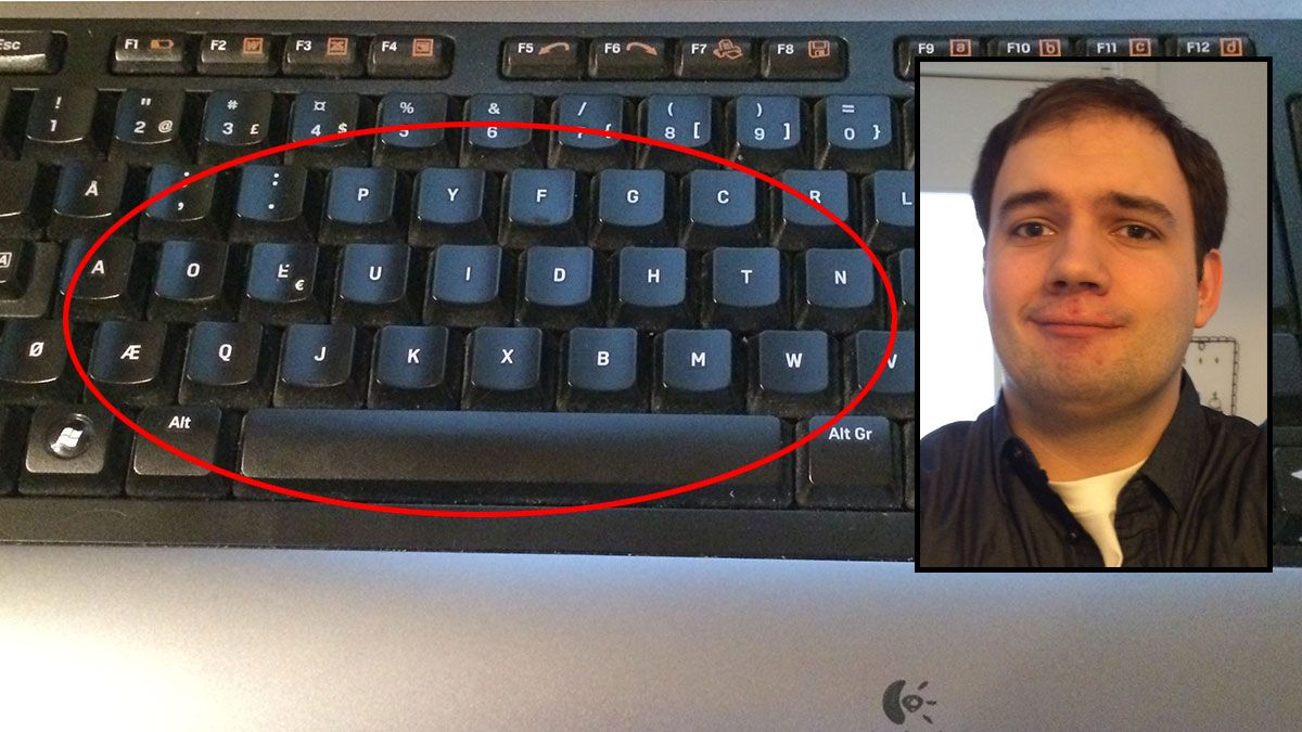 Dvorak tastaturet Artikkel Tek.no