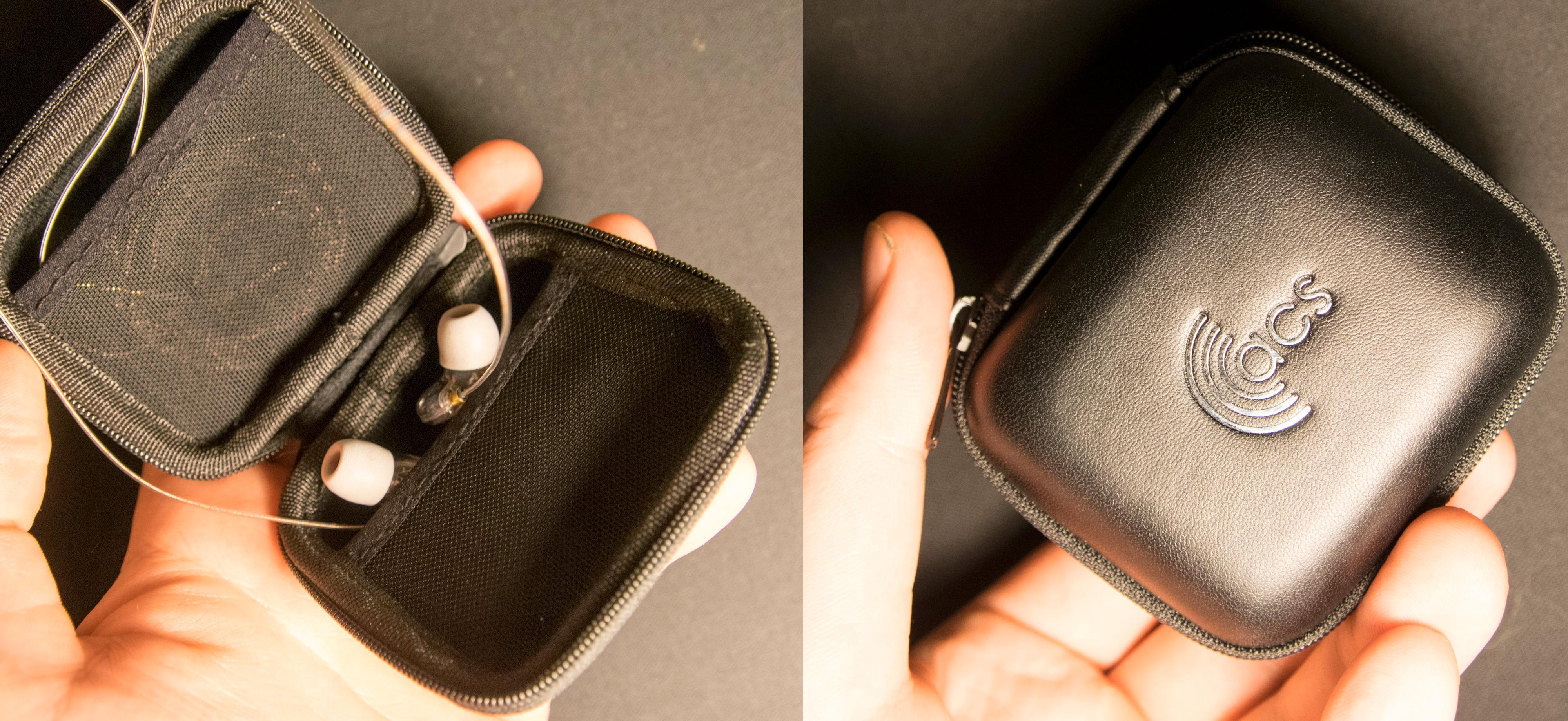 Det følger med en praktisk oppbevaringseske til å ha pluggene i når de ikke er i bruk. Foto: Finn Jarle Kvalheim, Tek.no