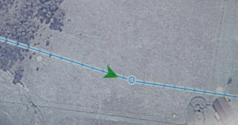 Google Wing navigerer presist etter forhåndsoppsatte GPS-koordinater.Foto: Google