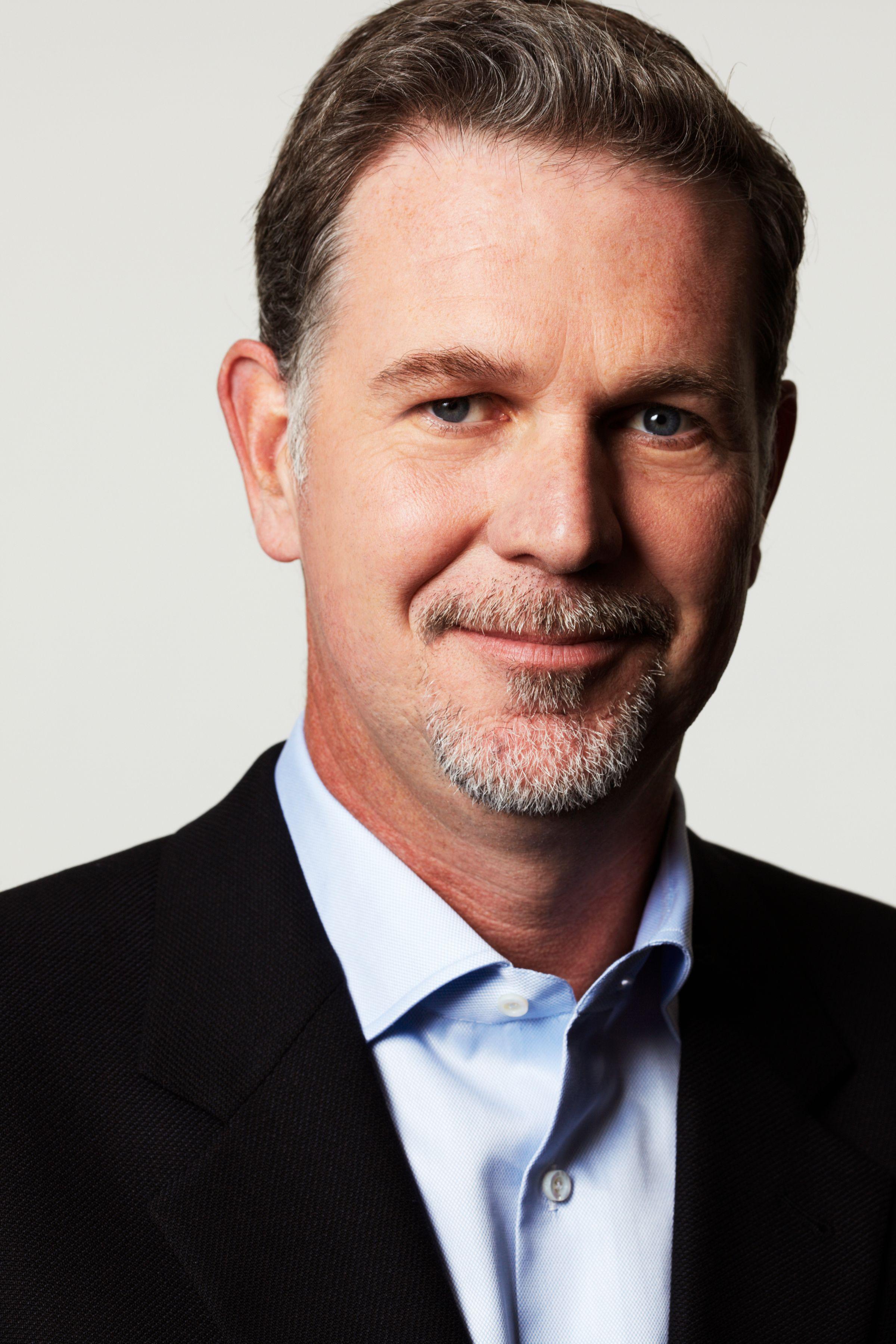 Reed Hastings er mannen som står bak Netflix, og mener digital distribusjon er den eneste veien for TV- og filmbransjen å gå.Foto: Netflix