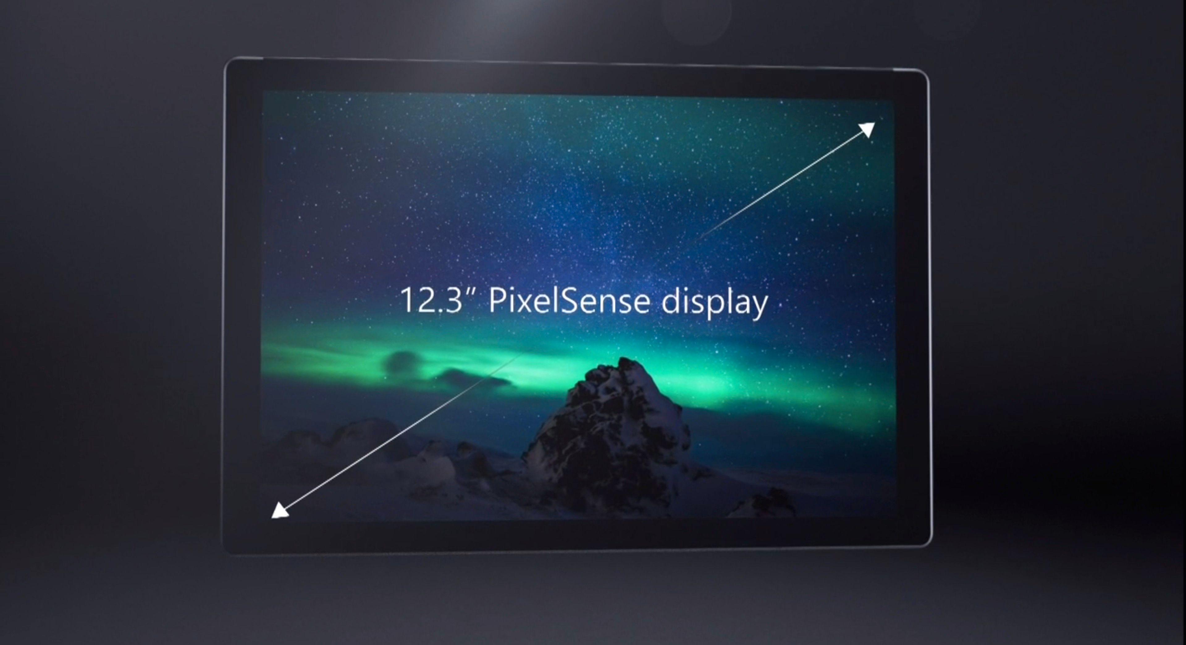 Større skjerm, samme fotavtrykk. Foto: Microsoft, skjermdump fra video
