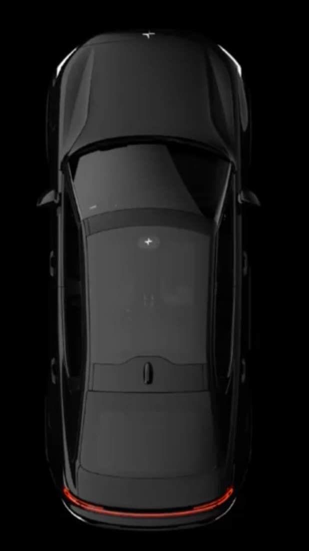 Oppløsningen skulle gjerne vært bedre, men gir likevel et inntrykk av den kommende elbilen.