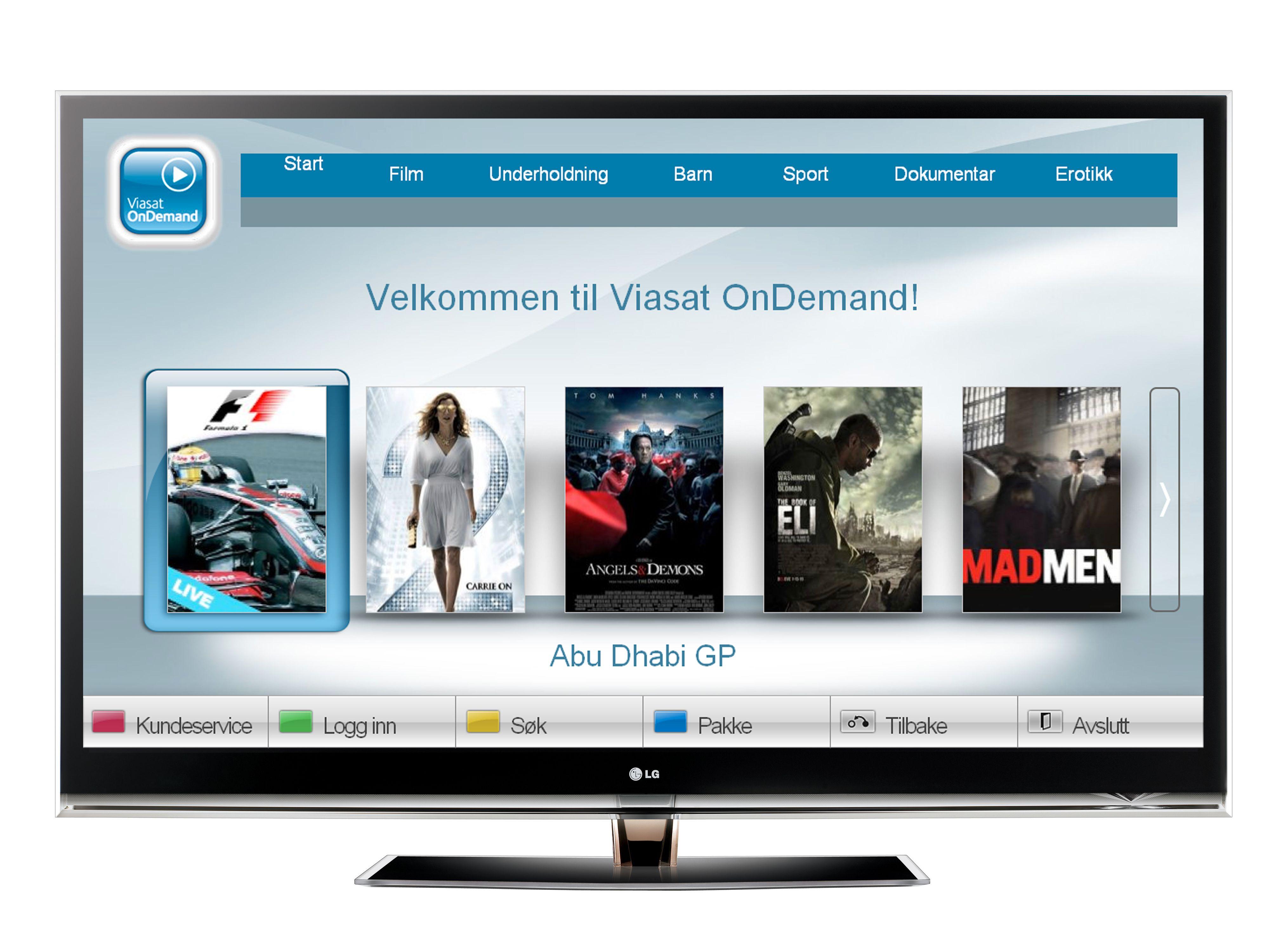 Smart TV løsninger gir deg blant annet et elegant brukergrensesnitt