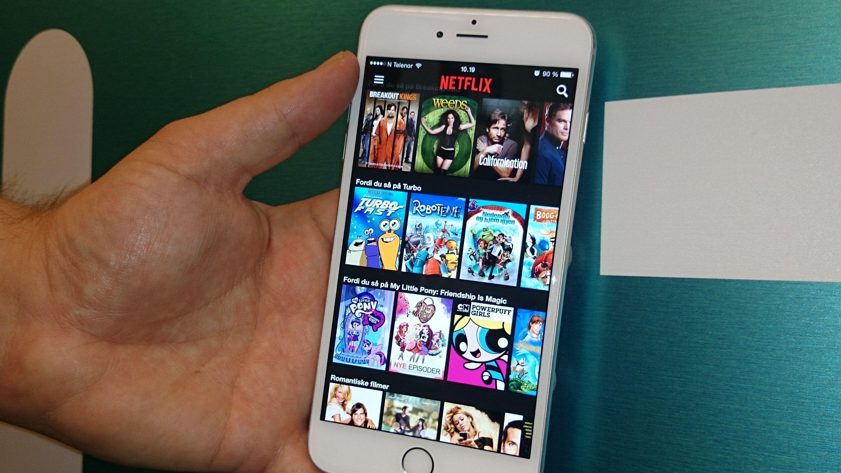 Nå kan du strømme Netflix i full HD på iPhone 6 Plus