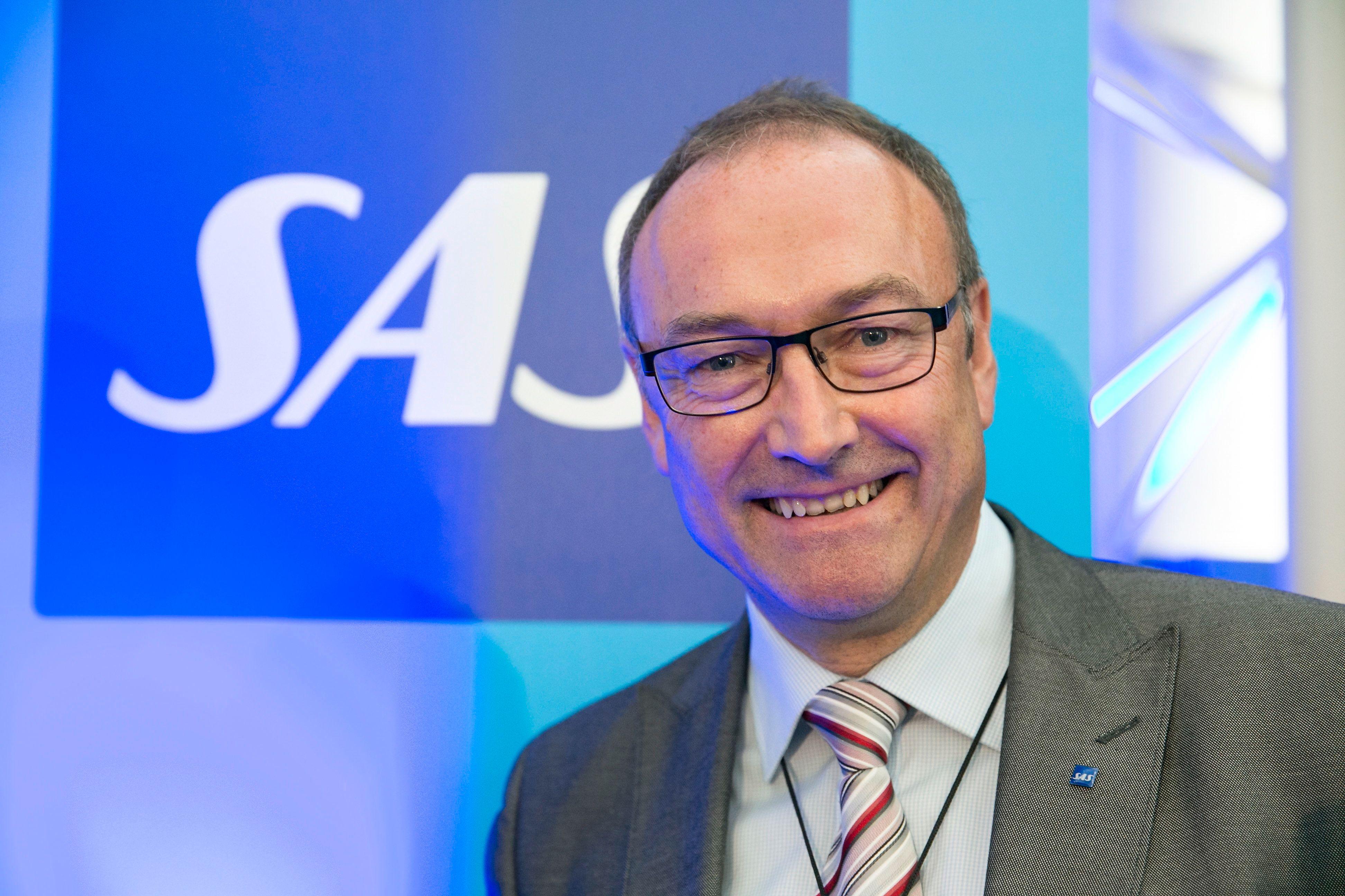 SAS' informasjonssjef Knut Morten Johansen tror den nye wifi-løsningen gir en helt ny hverdag for passasjerene.