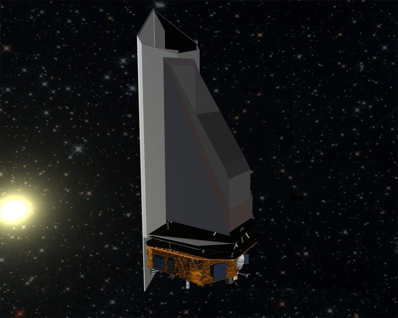 Slik tenker man seg at NEOcam skal se ut. Foto: NASA/JPL-Caltech