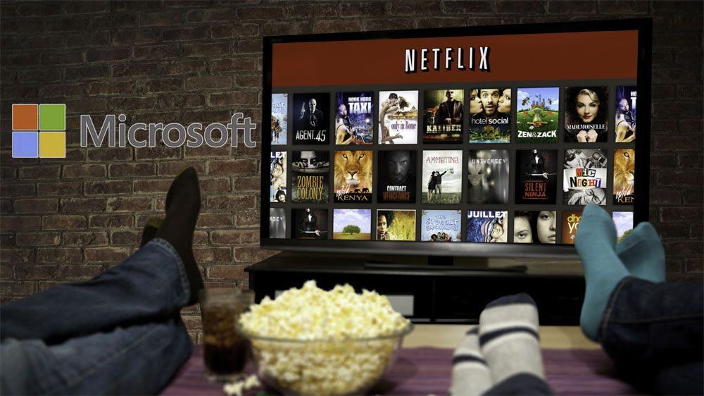 – Microsoft vil kjøpe Netflix