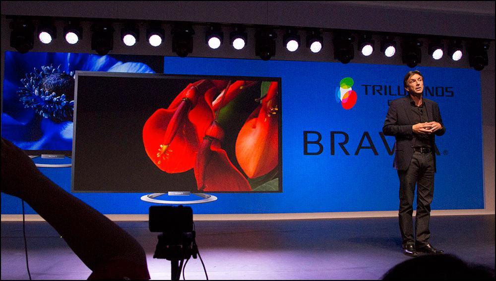 Trillunium-teknologien er inkorperert i alle Sonys nye produkter.Foto: Niklas Plikk, Hardware.no