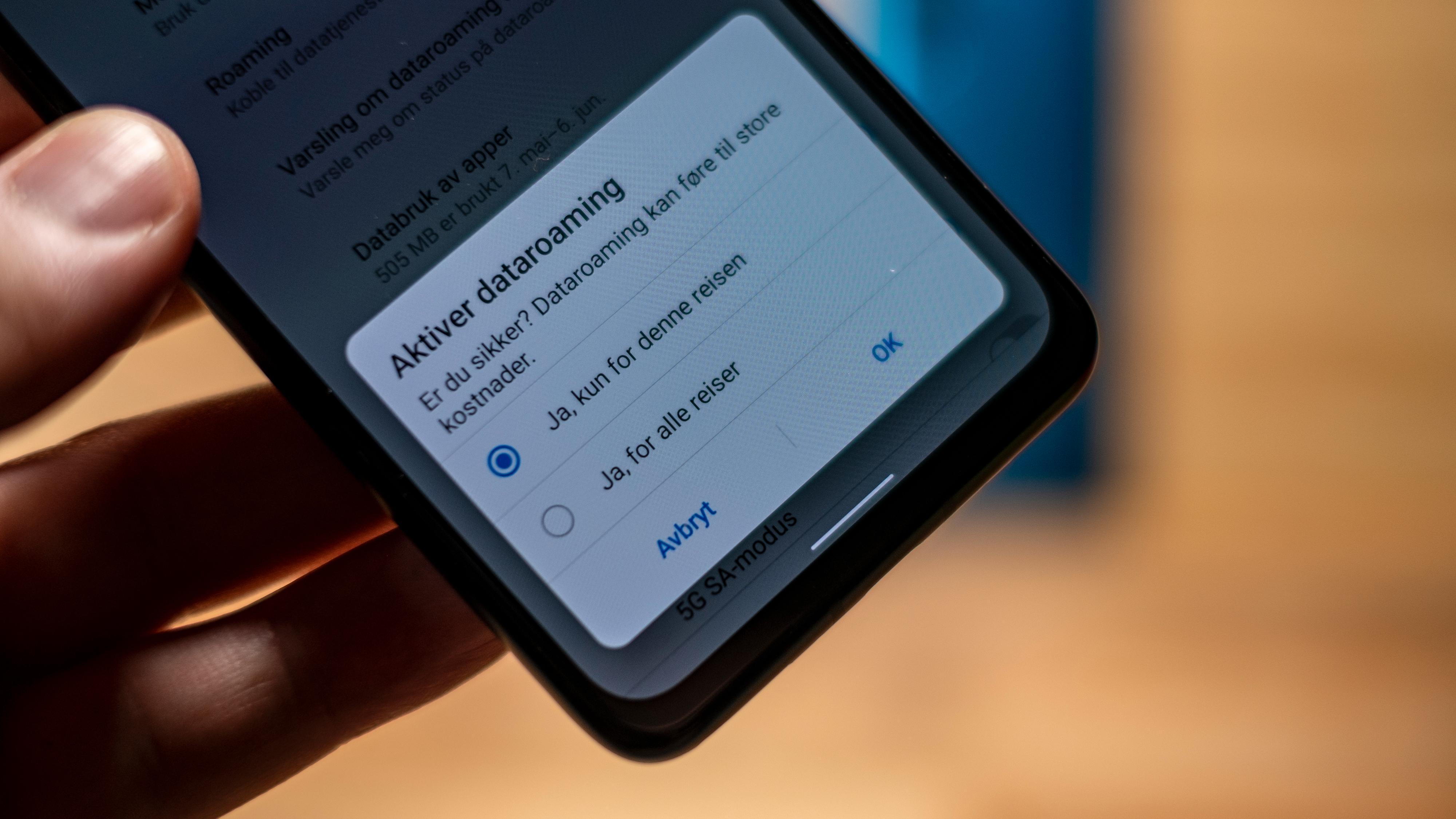 Måten du kan sette roaming-innstillinger for én tur av gangen er bare ett av mange eksempler på smarte løsninger i Asus-menyene som du ikke finner så mange andre plasser.