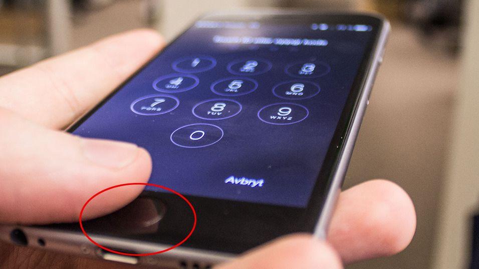 Touch ID-knappen skal være synderen.