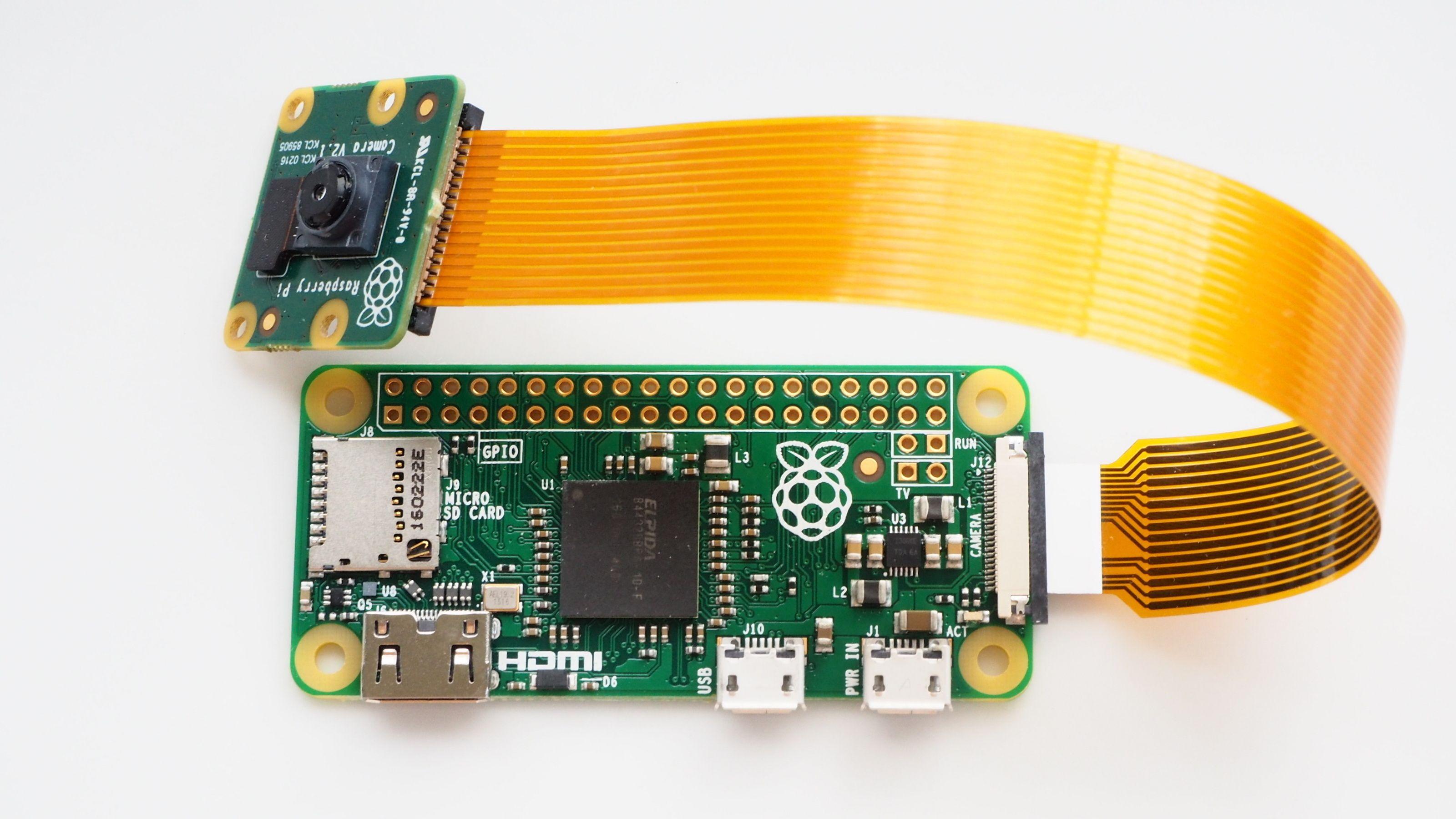 Raspberry Pi Zero har fått kamerastøtte: Ren flaks, sier grunnleggeren