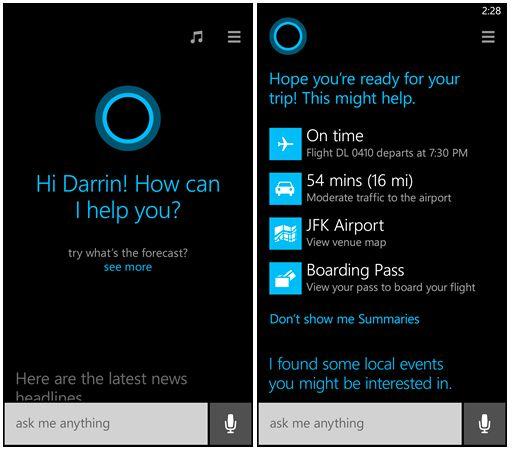 Microsofts taleassistent Cortana.Foto: Microsoft