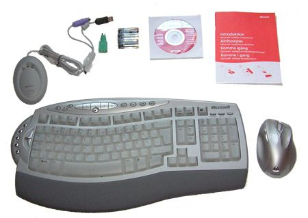 MS Wireless Laser Desktop 6000 Test Tek.no