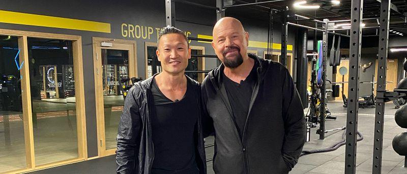 Se film: Anders Bagge går på gym