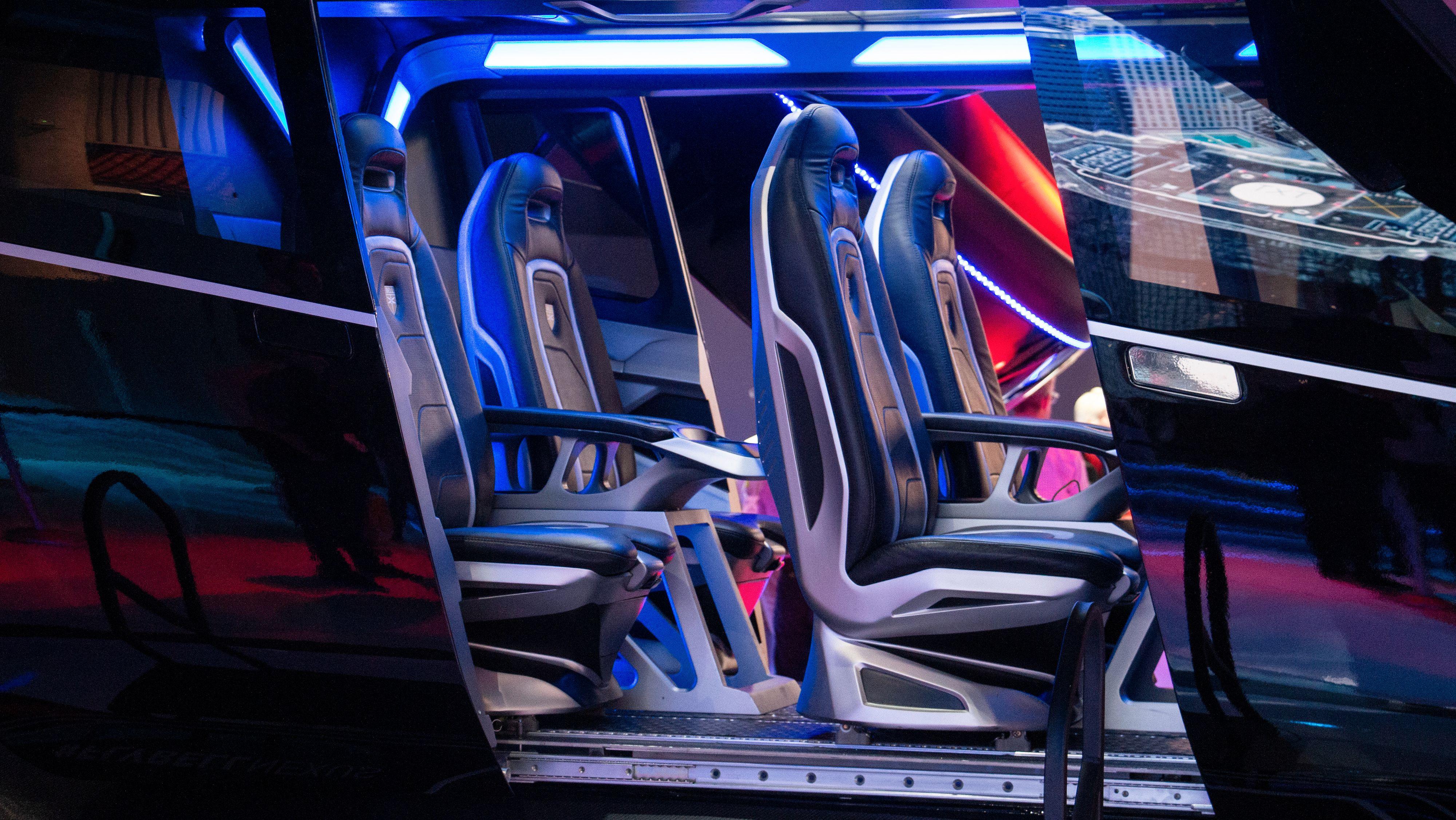 Nexus vil ha plass til fire passasjerer og pilot.