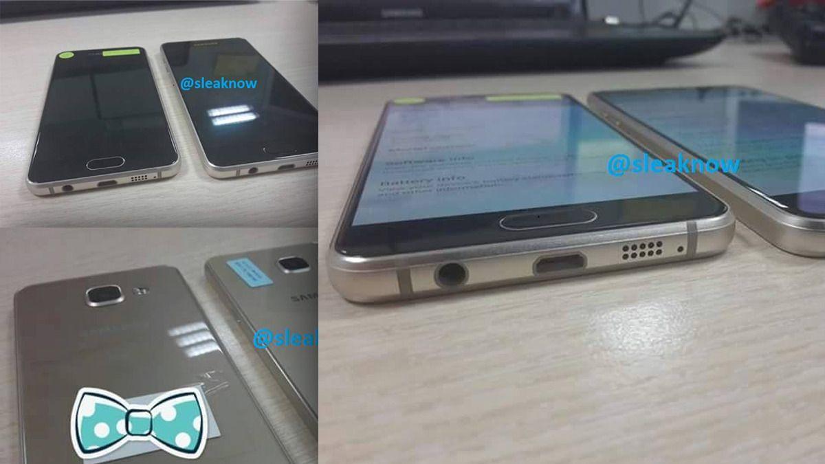 Slik ser Samsungs nye Galaxy-telefoner ut