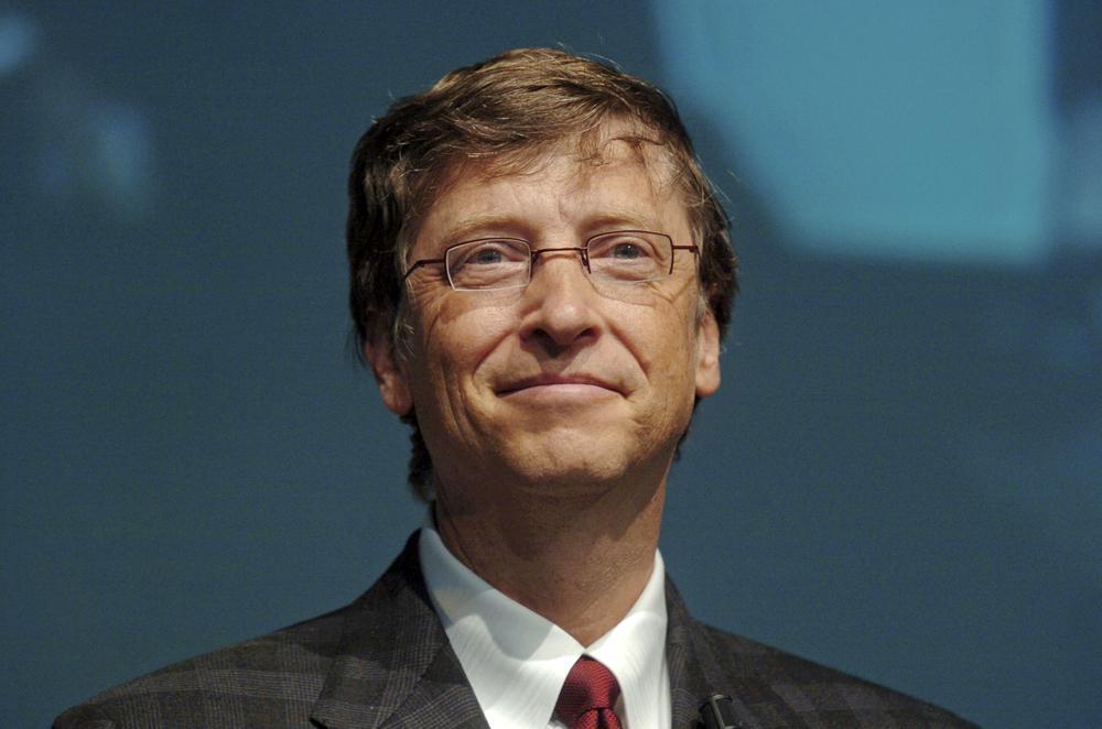 Bill Gates er godt fornøyd med det selskapet hans har oppnådd. Foto: Paolo Bona/Shutterstock.com