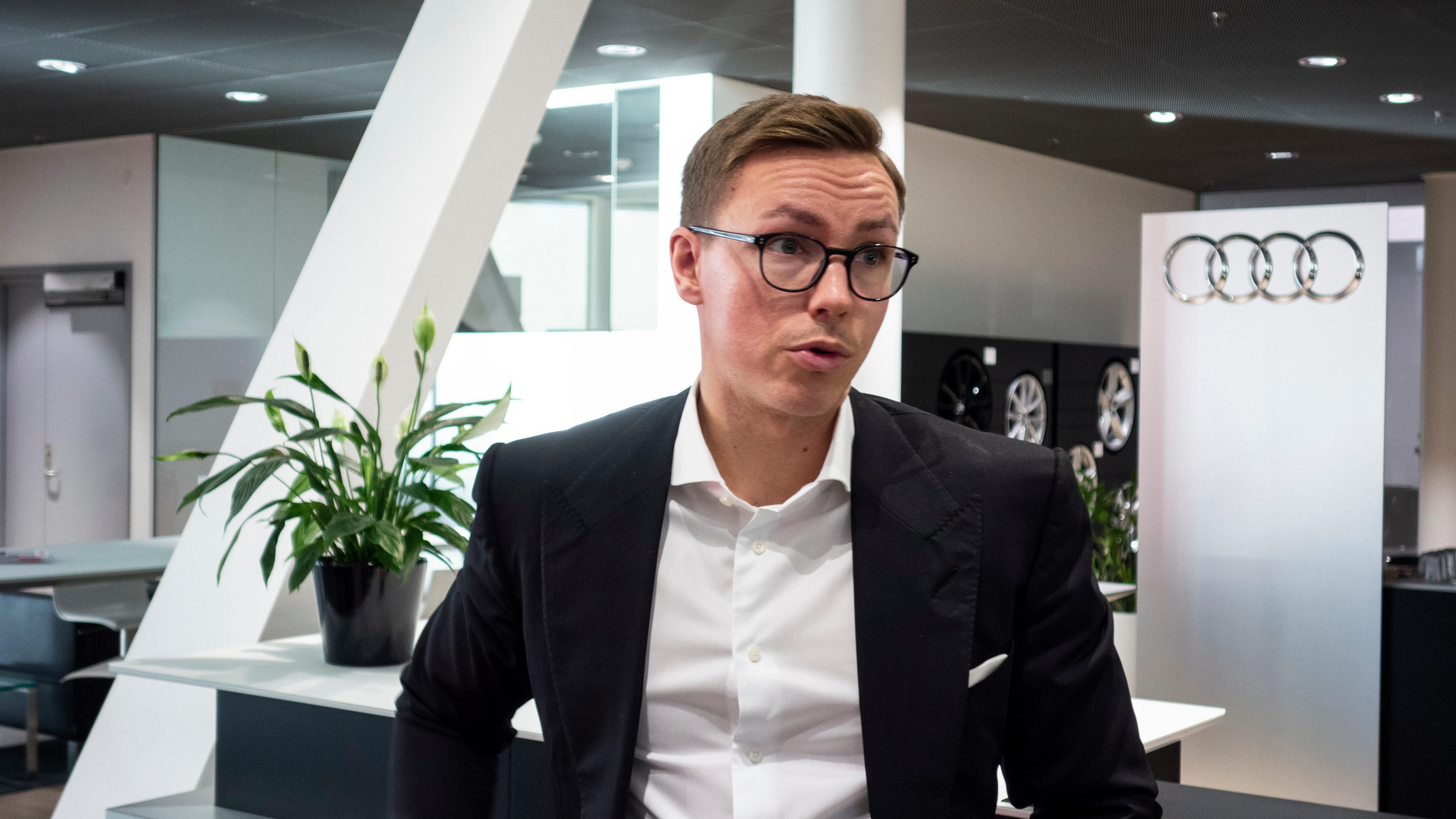 Morten Moum, Kommunikasjonssjef for Audi i Møller.